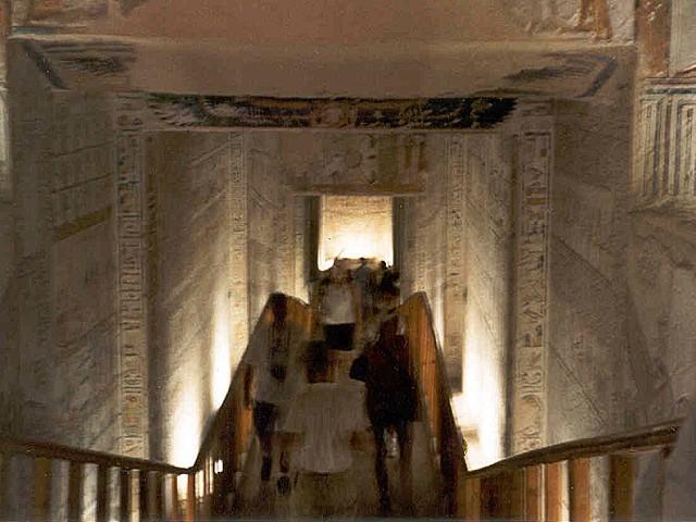 Luxor - Een gang ingang ...